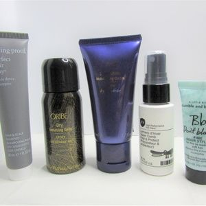 Hair Care Assortment - 5 Travel Size Products